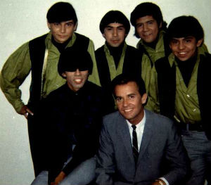 With Dick Clark on American Bandstand