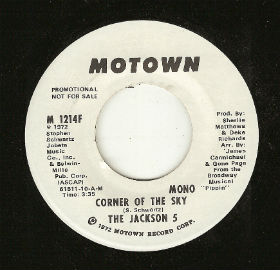 One of the records given to Mary Hinds was this promo 45 that was pressed at ARP in the fall of 1972. The Jackson 5 single debuted on the Billboard Hot 100 on October 28th - two days before the devastating fire