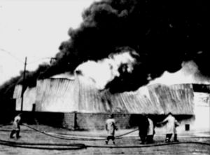 The fire at ARP October 30, 1972