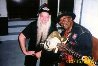 Benny with Bo Diddley