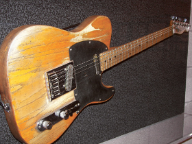 Springsteen's iconic guitar