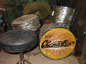 Barb Overhiser's drum kit
