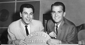 Freddy Cannon and Dick Clark