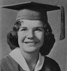 Janis in high school 1960
