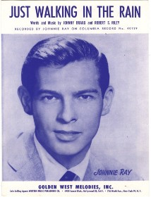 Johnnie Ray's last big hit